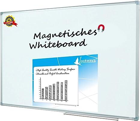 Amazon.com: Lockways Pizarra magnética de borrado en seco ...