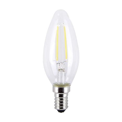 "LED E14 bombilla""E14"" hecho de Vidrio (E14, A++) de LAMPENWELT"