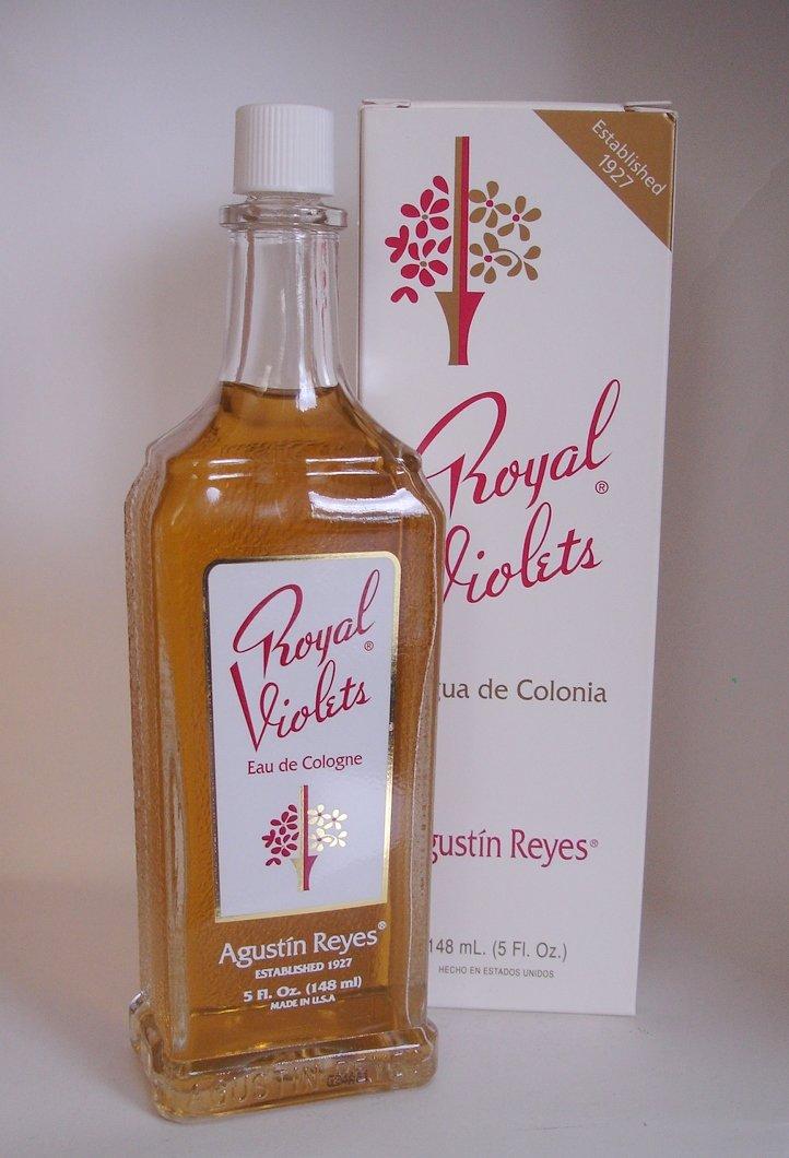 Royal Violets By Agustin Reyes 5 Oz Agua De Colonia Eau De Cologne Glass Bottle by Royal Violets