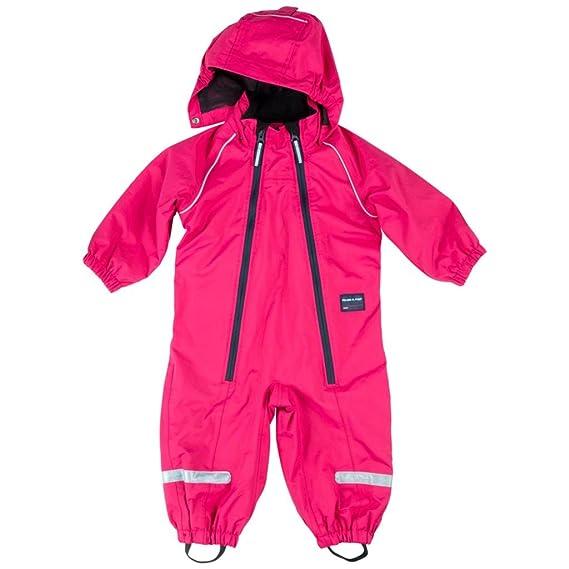 da0bd48093fb POLARN O. PYRET SHELL OVERALL WITH FLEECE LINER (BABY) - Pink ...