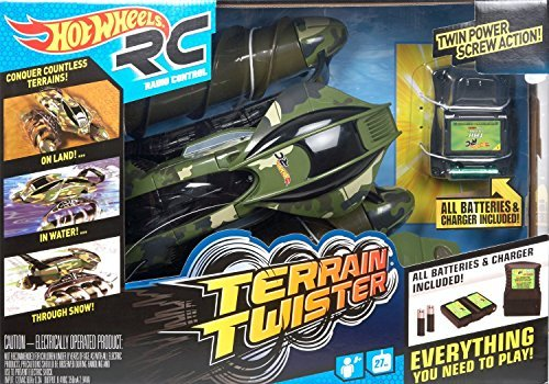 Hot Wheels Terrain Twister, Camo