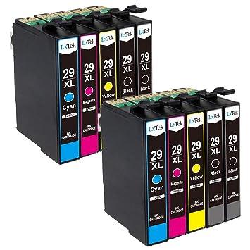 LxTek Compatible para Epson 29 29XL Cartuchos de Tinta para Epson ...