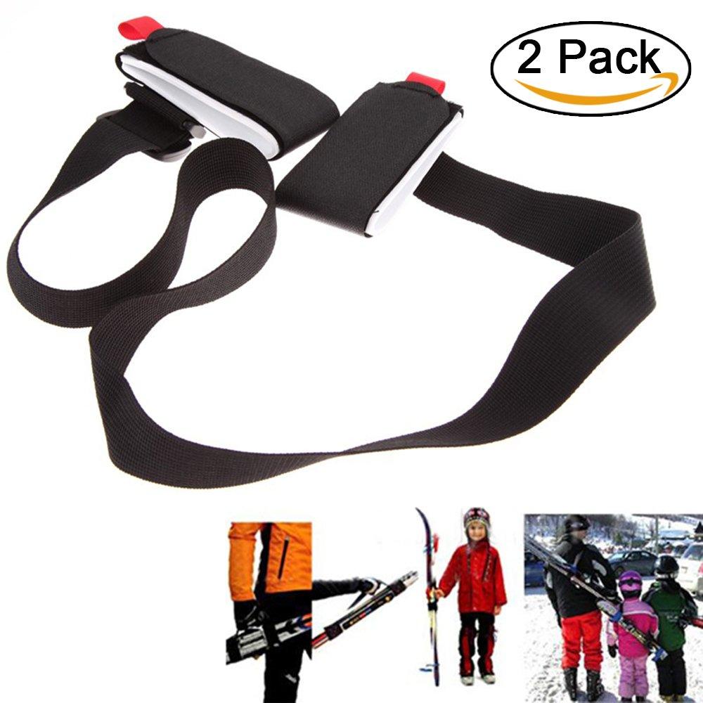 Ski Tragegurt, einstellbar Nylon Ski Schultergurt, Ski Haltegurt für Snowboard