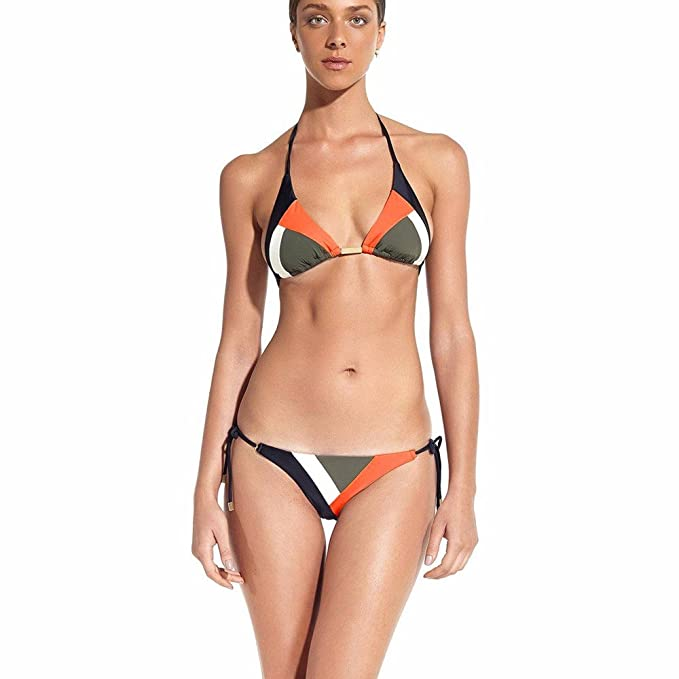 1bfc50981d46 ASHOP bañador Natacion 2019 Bikini Mujer Talla Grande Tankinis Negro Traje  de baño niña Licra mangalarga Monokini Africano (Naranja, S): Amazon.es:  Ropa y ...