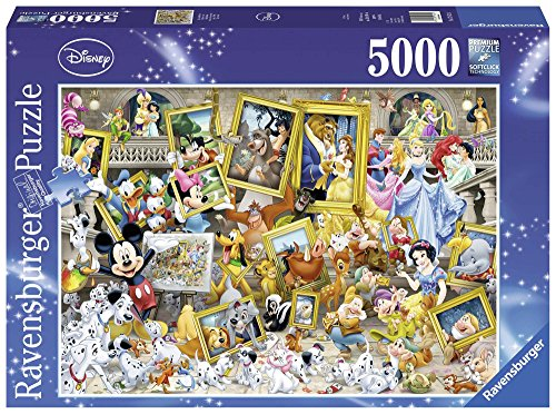 Ravensburger Mickey as Artist Jigsaw Puzzle (5000 Piece) (Piece Puzzle 5000)
