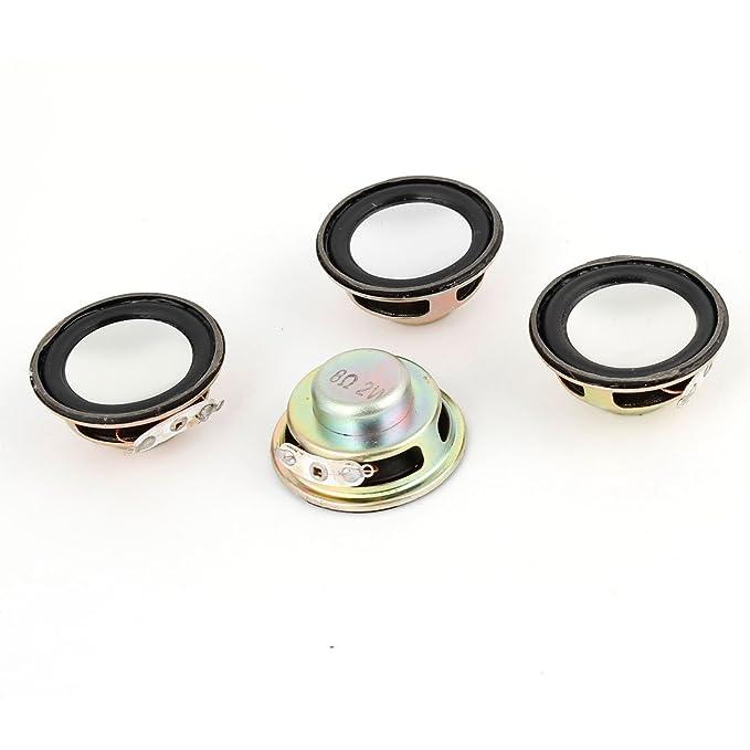 Amazon.com: DealMux Repair Parte 36mm Speakers Dia internos Magnet 8Ohm 2W 4 Pcs para PC portátil: Electronics