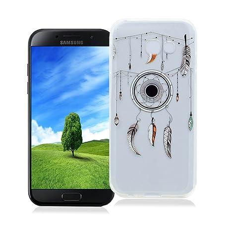 AllDo Funda Samsung Galaxy A3 2017 SM-A320F, Carcasa de Silicona TPU Funda Transparente Claro Carcasa Anti Rasguños Anti Choque para Samsung Galaxy A3 ...