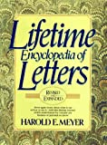 Lifetime Encyclopedia of Letters, Harold E. Meyer, 0138948747