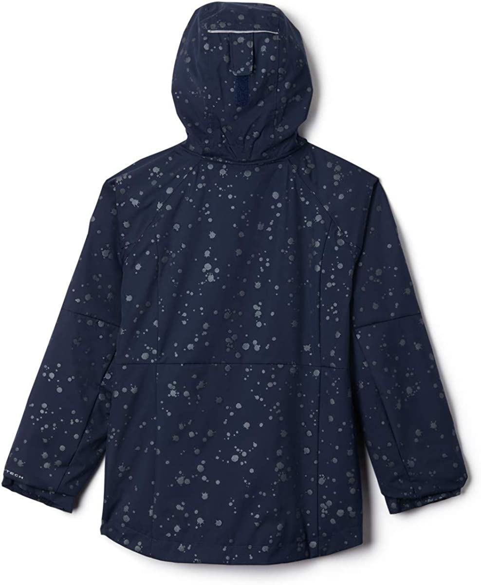 Waterproof /& Breathable Extended Fit Columbia Kids /& Baby Rain Scape Jacket