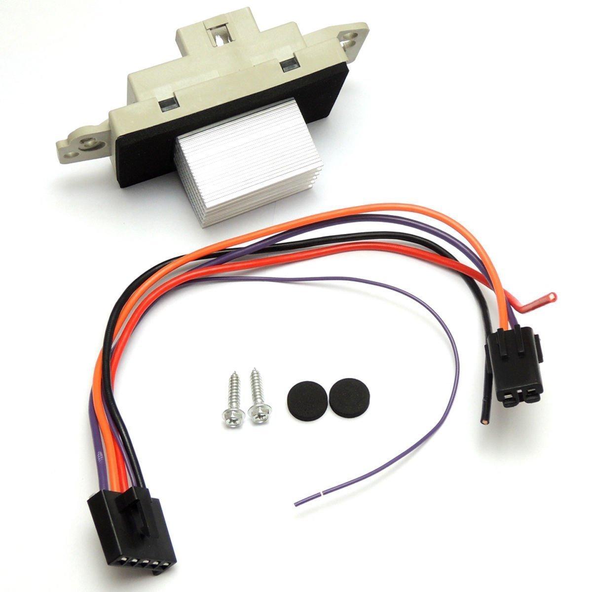 Heater Blower Motor Resistor ATC Fits for Buick Chevy Silverado GMC Sierra Cadillac Yupin Auto Parts Co.; Ltd. JA1639