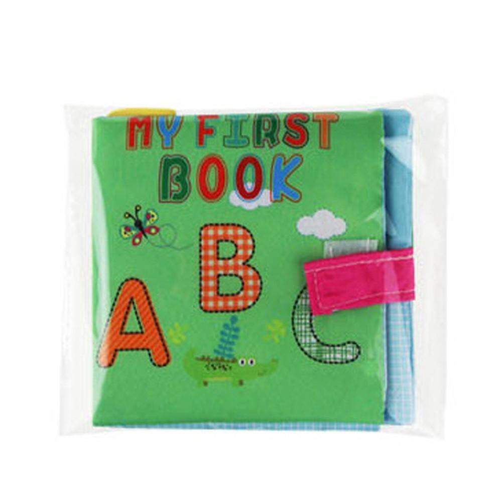 Doinshop Baby Intelligence Development Soft Cloth Picture Cognize Book