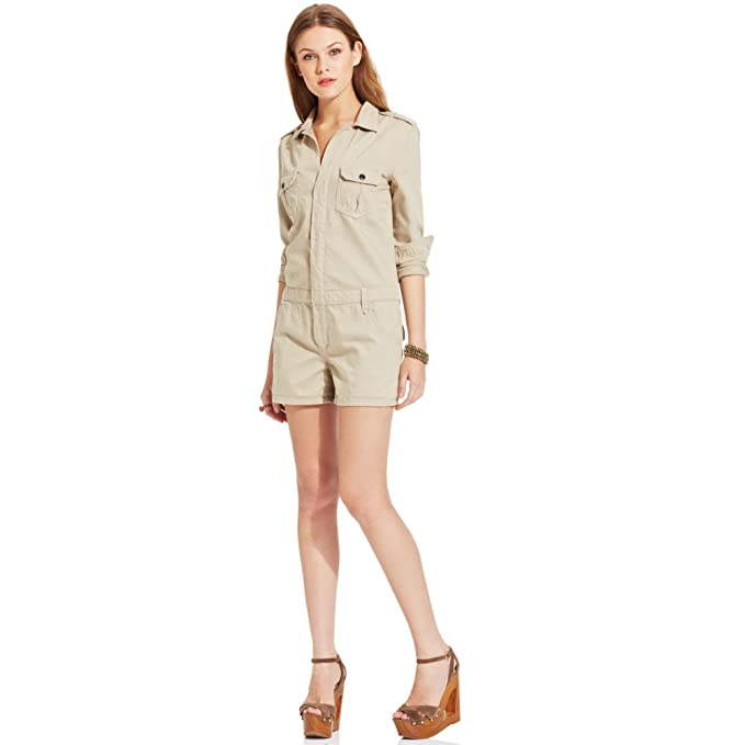 ca5c8eee5561 Joe's Jeans Women's Natural Military Short Jumpsuit,Natural,XS: Amazon.ca:  Clothing & Accessories
