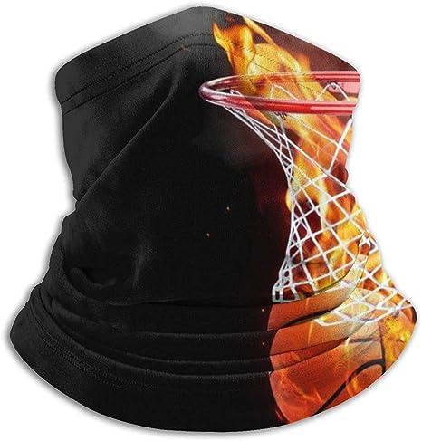 IMERIOi Flaming Baloncesto Cuello Calentador Máscara de esquí a ...