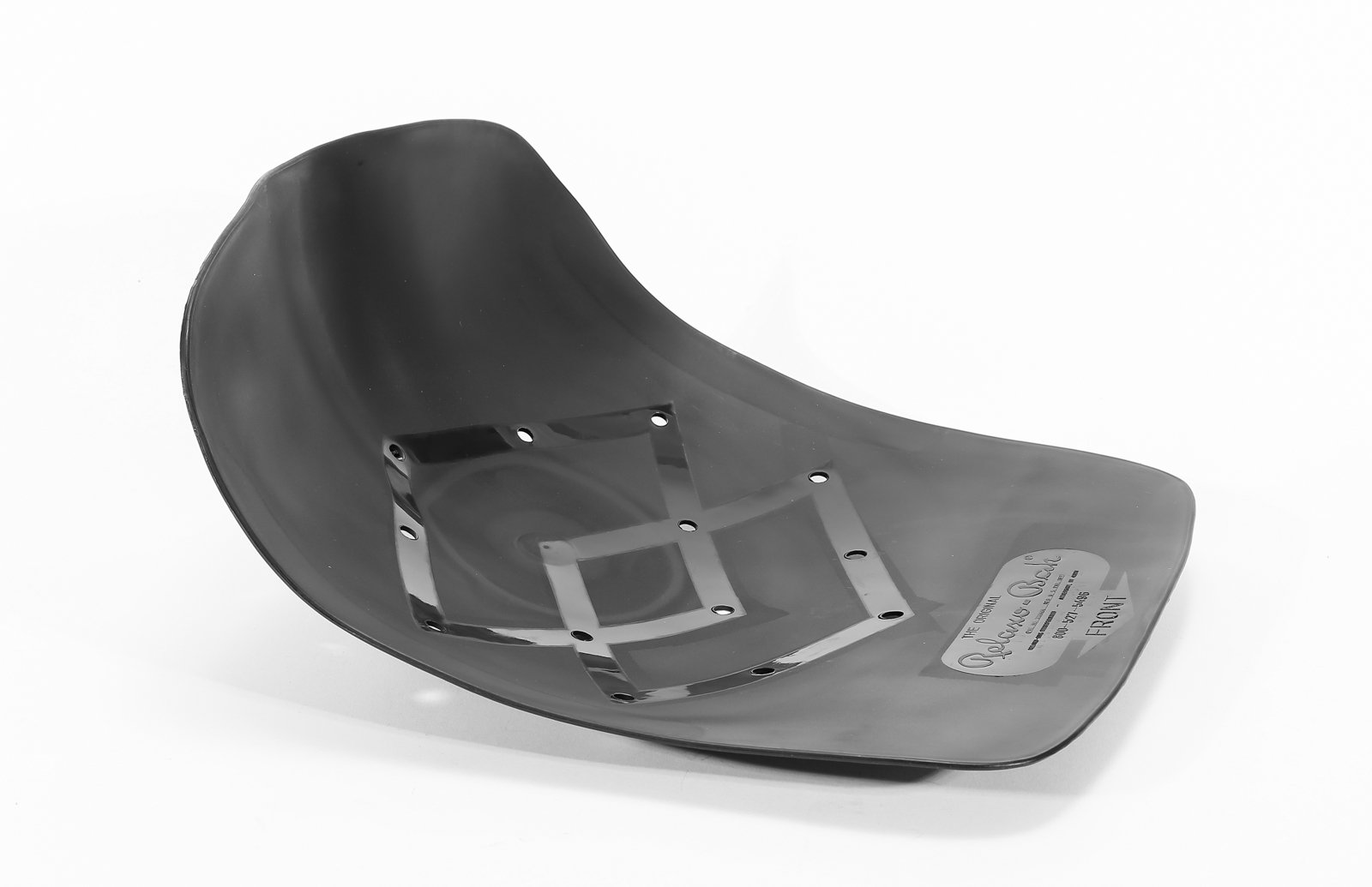 "The Original Orthopedic Firm-Yet-Flexible Comfort Seat by RelaxoBak, Molds to Body, Ideal for Tailbone/Coccyx & Lower Spine, Posture/Alignment Support, 16.7"" x 13"" x 4.5"", Holds up to 300lbs"