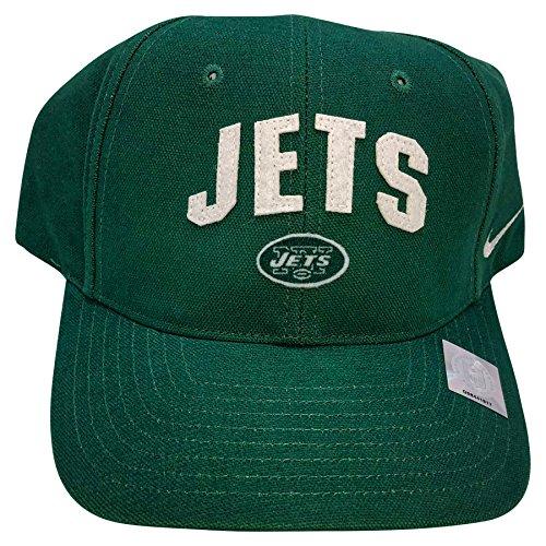 Nike Retro Hat - NIKE NFL New York Jets Classic Retro Adjustable Hat Green