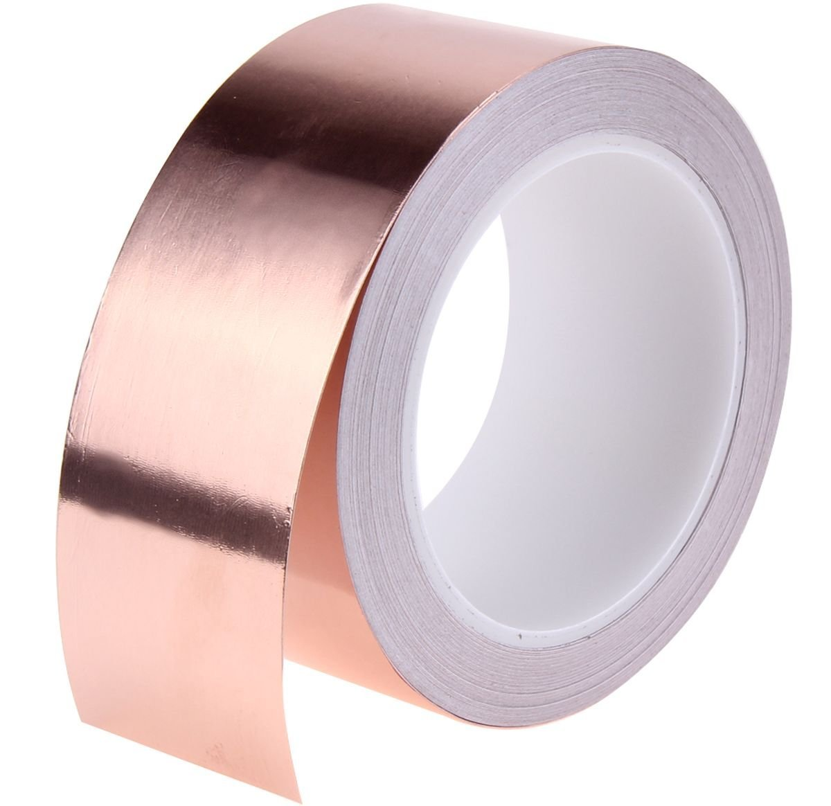 4 meters (1 roll) x Adhesive COPPER Foil TAPE ✯ RELIABLE Slug Snail & Garden Pest Repeller ✯ CONDUCTIVE Tape Ideal for small Electrical Jobs, CRAFTS, DIY, GUITAR REPAIR ✯ HEAVY DUTY Simply the Best