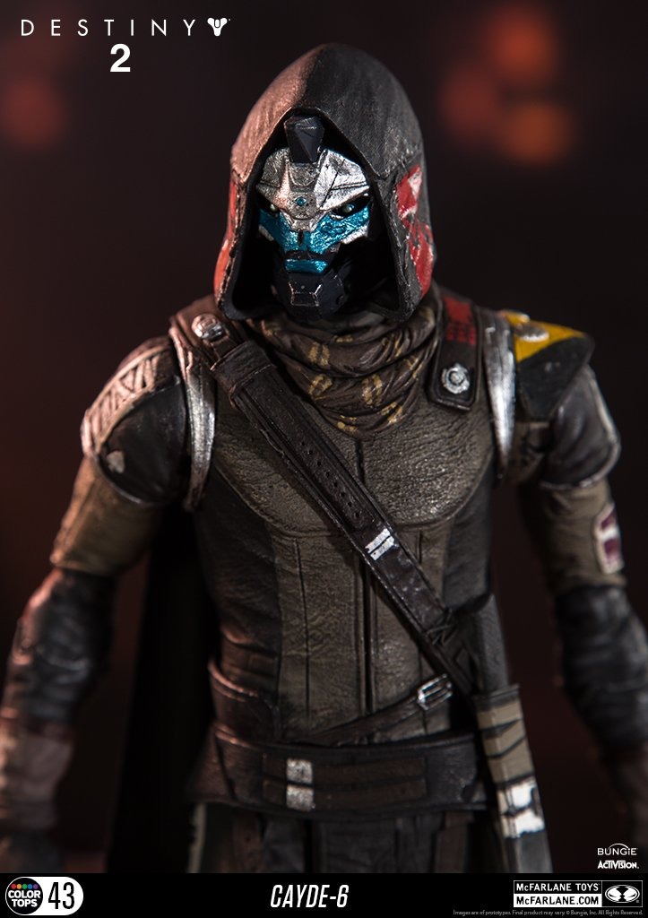 McFarlane Toys 13040-9 Destiny 2 Cayde 6 Collectible Action Figure by McFarlane Toys (Image #6)
