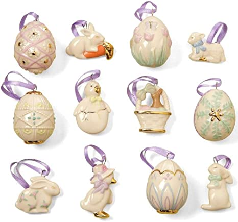 LENOX NOAH/'S ARK ORNAMENT TREE set with 12 Ornaments NEW in BOX with COA