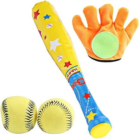 Joyibay Béisbol De Niños Conjunto Bate De Béisbol Creativo Guante ...
