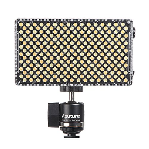 Aputure Amaran AL-F7 On Camera LED Video Light Color Temperature 3200-9500K CRI/TLCI 95+ Led Panel Versatile On-Camera LED Light (Updated version of Aputure Al-H198) by Aputure (Image #1)
