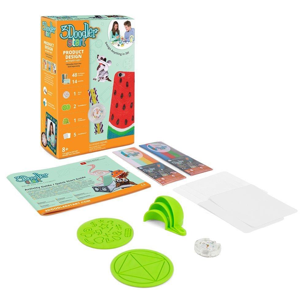 3Doodler Start Product Design Themed Activity Kit (3D Pen Not Included) WobbleWorks Inc. 3DS-PDS-COM