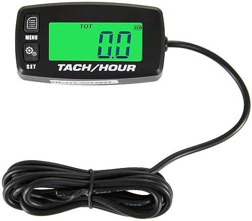 Amazon.com: Tacómetro inductivo con retroiluminación para ...