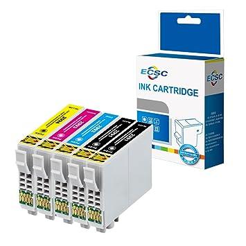 ECSC Compatible Tinta Cartucho Reemplazo para Epson XP-455 XP-452 ...