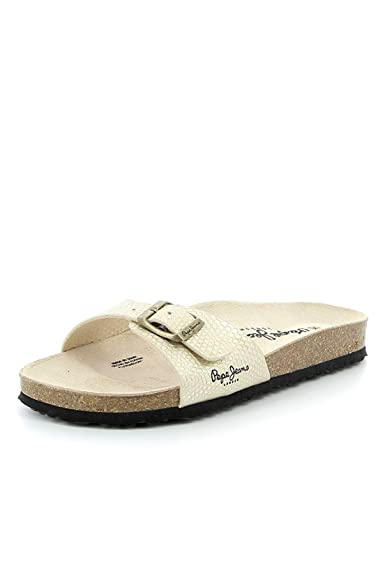 b2e37a99960e Pepe Jeans - Sandales Pepe Jeans ref pep41041-099-or  Amazon.fr ...
