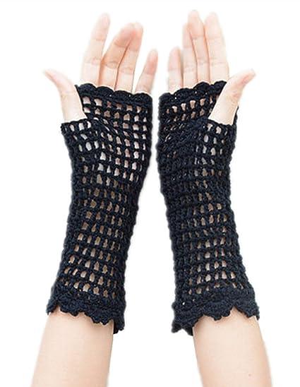 Tinacrochetstudio Crochet Fingerless Gloves Custom Elbow Length
