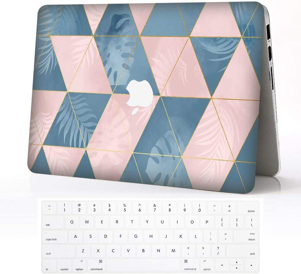 Z-KOKO Ordinateurs Portables pour Macbook Air 13 inch,Marble 14 Conception Mod/èle Dur Protective Shell Case Coques /& Keyboard Covers Compatible Macbook Air 13 A1369//A1466