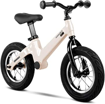 Balance Bike Bicicleta Sin Pedales,Bicicleta Andar En Bicicleta para Niños Correr Andar En Bicicleta De Entrenamiento 18 Meses A 5 Años,Gold: Amazon.es: Deportes y aire libre