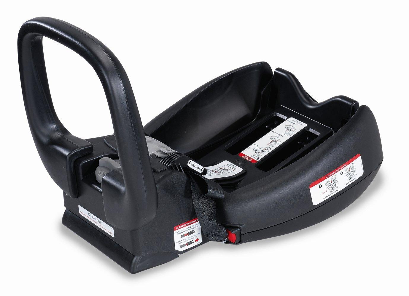Britax Chaperone Infant Car Seat Base Kit, Black (Prior Model) S841100