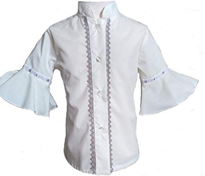 Camisa para Niñas 100% Algodón |Tallas Entre 3 y 10 Años | Blusas con Mangas de Niña para Verano | Hecha en España con la Máxima Calidad: Amazon.es: Ropa y accesorios
