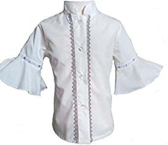 Camisa para Niñas 100% Algodón  Tallas Entre 3 y 10 Años   Blusas con Mangas de Niña para Verano   Hecha en España con la Máxima Calidad: Amazon.es: Ropa y accesorios
