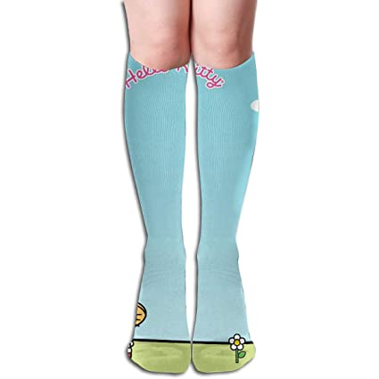 dde881c96 Amazon.com: CFECUP Hello Kitty Water The Flowers Tube Stockings ...