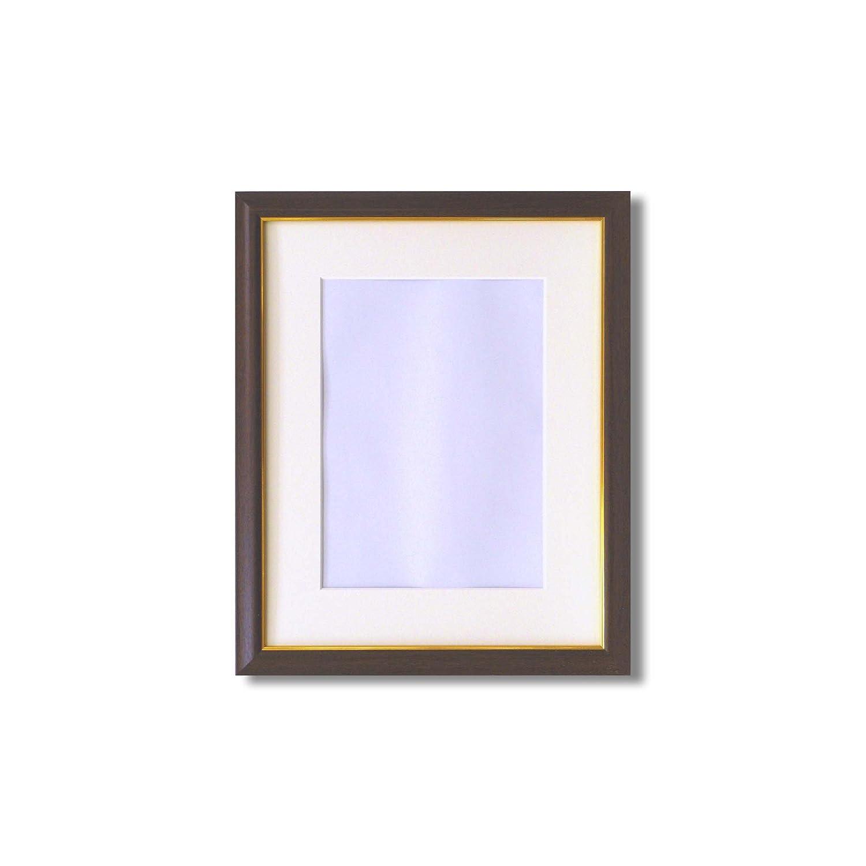 【額縁】マット壁掛けひもアクリル付 ■水彩額 マット付 (白木, F10) B0116K5NJK F10|白木 白木 F10