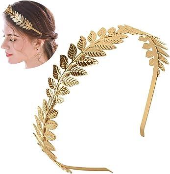 bando bijoux cheveux femme dore