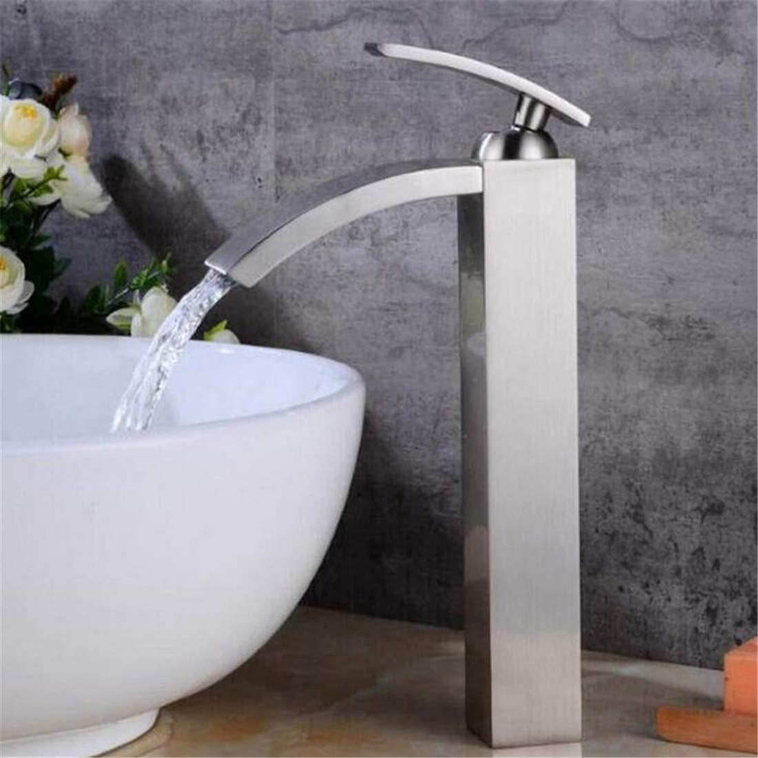 Kitchen Bath Basin Sink Bathroom Taps Bronze Bathroom Faucet Tall Single Handle Mixer Water Ta P Ctzl4092 Janitorial & Sanitation Supplies