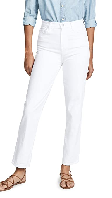 J Brand Women's Jules High Rise Straight Jeans by J Brand+Jeans