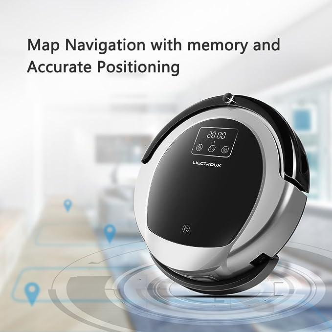 Robot Aspirador Liectroux B6009 con Navegación en Mapa ...