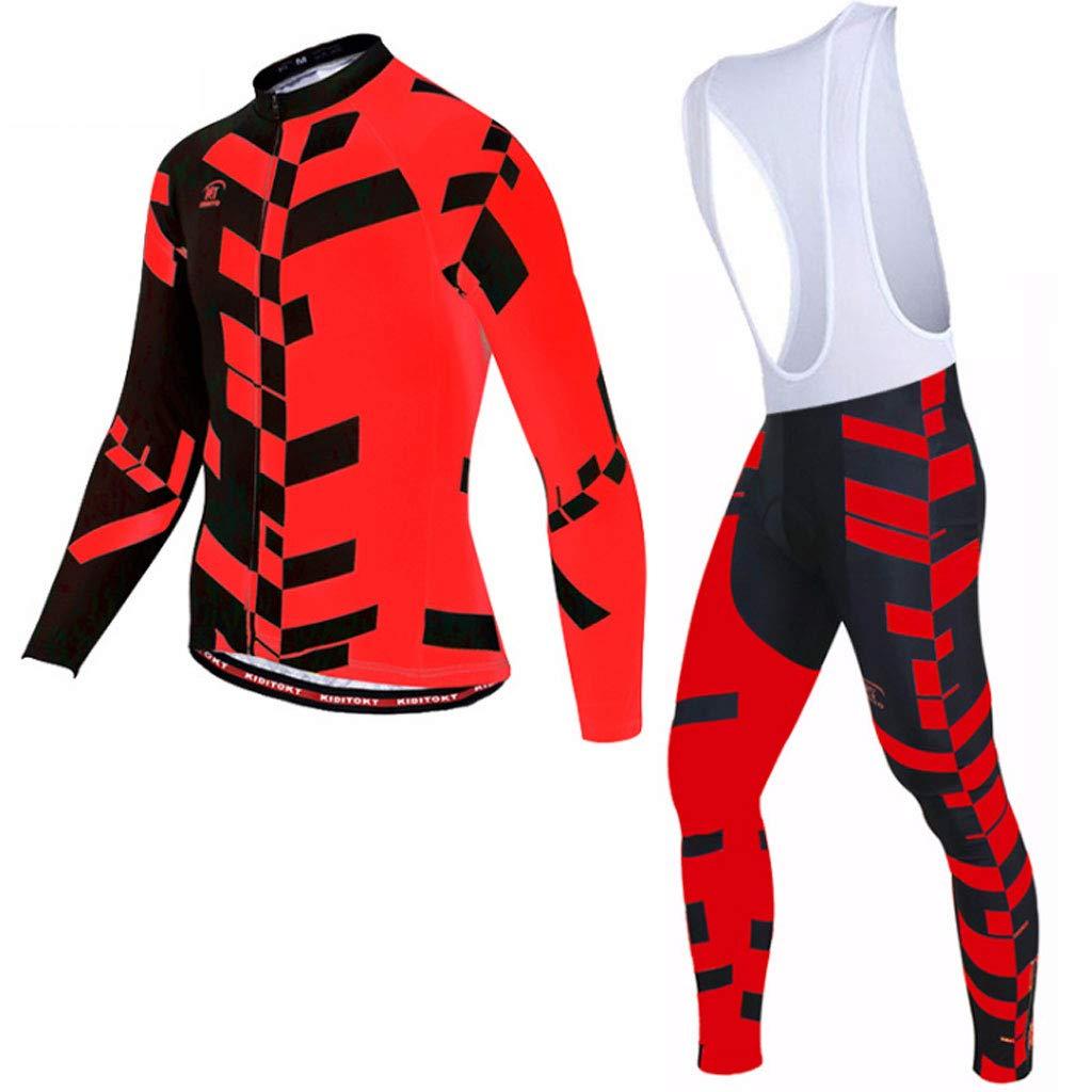 Lilongjiao Radsport-Klage-Frühlings-Lange Hülsen-Bügel-Klage-Radsport-Abnutzungs-Männer Sportswear-Radfahren Tragen