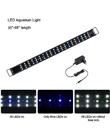 Viugreum Luz LED Acuario, Pantalla LED Acuario, Iluminacion LED para Acuarios Plantados Lampara LED