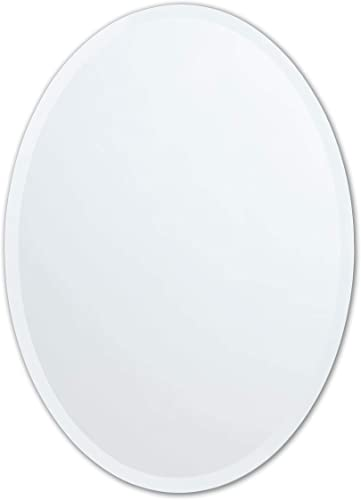 Better Bevel 24″ x 36″ Frameless Oval Mirror