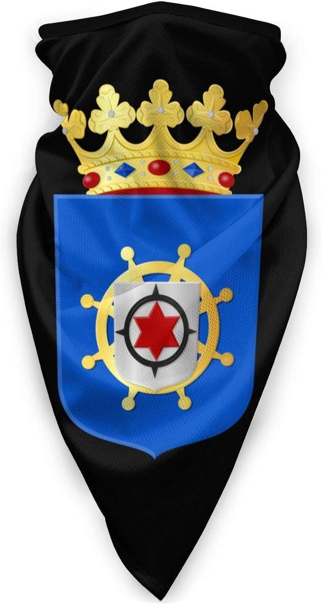 Neck Warmer National Emblem of Bonaire Bandanas Trabajo Colorido A Prueba De Viento Hombres Al Aire Libre Cuello Polainas Calentador Multifunción Cubierta Facial Bufanda Deportes E