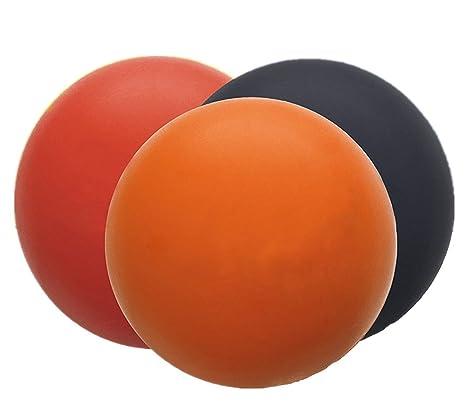 Westeng Pelota Bola Lacrosse Masaje Yoga Roller Ball Massage Punto Presión Pelota Masajear Terapias Rehabilitación Fisioterapia
