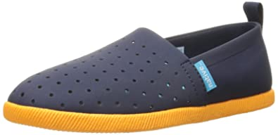 native shoes Venice Child 23102300 Kinder Slipper, Dunkelblau (Regatta Blue/Begonia Orange), Gr. 20 EU/5 US C