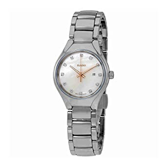 7a0052d51 Image Unavailable. Image not available for. Color: Rado True Mother of  Pearl Dial Plasma High-Tech Ceramic ...