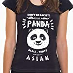 Camiseta Be Like a Panda - Feminina