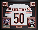 Mike Singletary Autographed White Chicago Bears