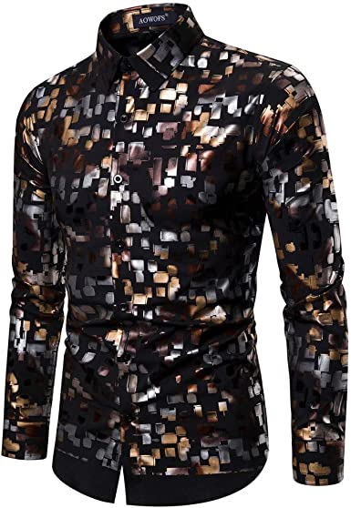 Blustercool Camisa para Hombre de Manga Larga con diseño de ...